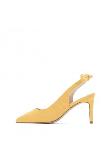 Pantofi cu toc MADEMOISELLE R GEG650 galben