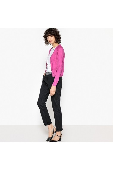 Cardigan La Redoute Collections GEG828_Rose-fuchsia Fuchsia