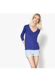 Пуловер La Redoute Collections LRD-GEG854_Bleu-dur Син