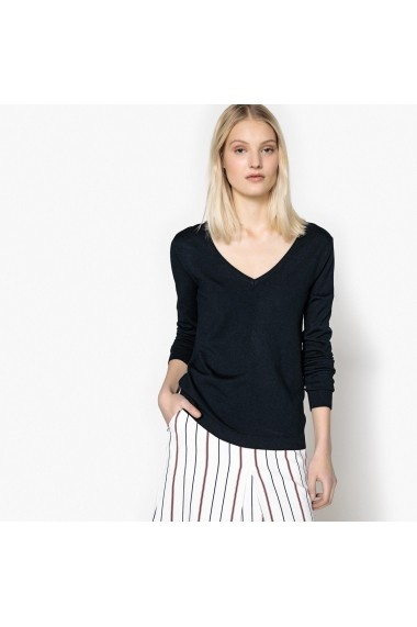 Pulover La Redoute Collections GEG854 bleumarin - els