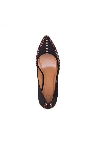 Pantofi cu toc La Redoute Collections GEH080 negru