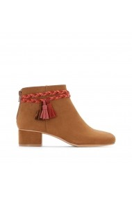 Botine La Redoute Collections GEH507 maro