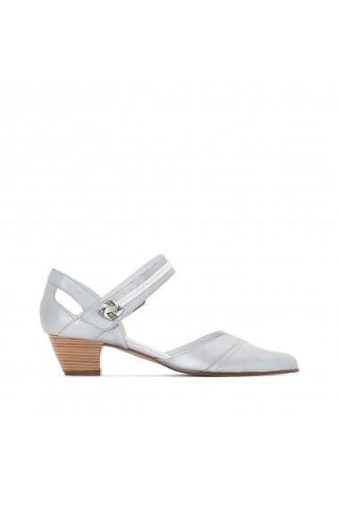 Pantofi cu toc ANNE WEYBURN GEH608 argintiu