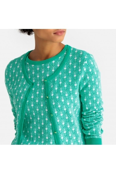 Cardigan La Redoute Collections GEI216 verde