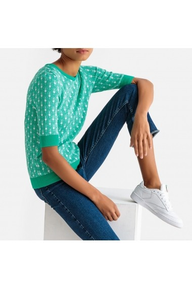 Pulovere La Redoute Collections GEI226 verde