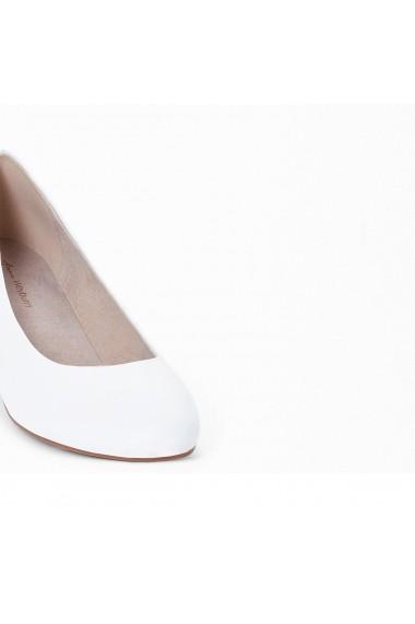 Pantofi cu toc ANNE WEYBURN GEI517 alb