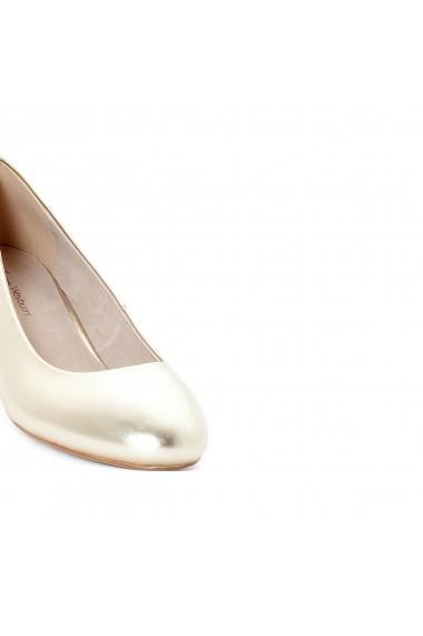 Pantofi cu toc ANNE WEYBURN GEI517 auriu