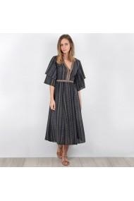 MOLLY BRACKEN Hétköznapi ruha LRD-GEM730_Imprime-noir_els Fekete