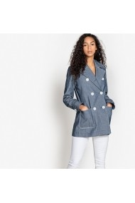 Jacheta din denim La Redoute Collections GEM980 Albastra
