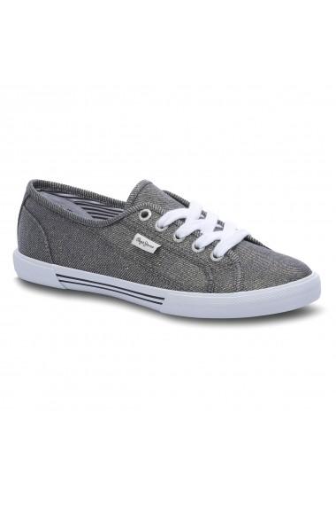 Pantofi sport Pepe Jeans GEN975 gri