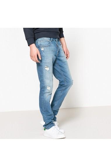 Jeans La Redoute Collections GEO386 albastru