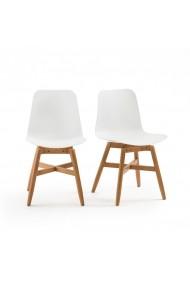 Set 2 scaune inalte pentru gradina Ramajet La Redoute Interieurs GEP012 alb