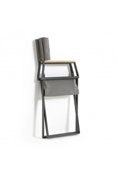 Set 2 scaune gradina Drumlin La Redoute Interieurs GEP013 gri