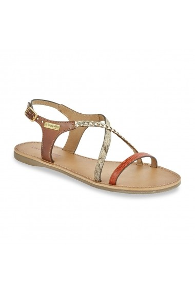 Sandale LES TROPEZIENNES par M BELARBI GEQ132 portocaliu