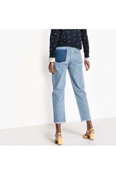 Jeans La Redoute Collections GEQ183 alb