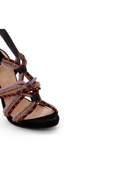 Sandale cu toc La Redoute Collections GEQ192_Multicolore Multicolor - els