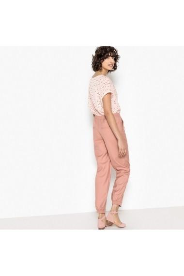 Pantaloni La Redoute Collections GEQ306 roz