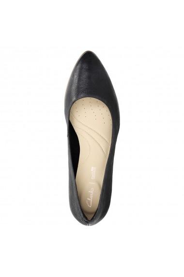 Pantofi cu toc Clarks GEQ984 negru