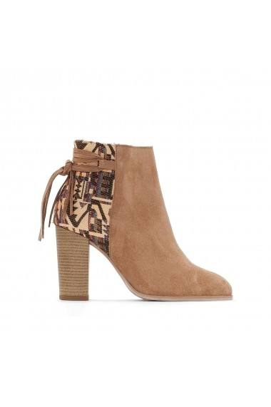 Botine La Redoute Collections GER245 gri - els
