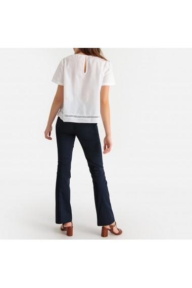 Pantaloni evazati La Redoute Collections GER343 bleumarin