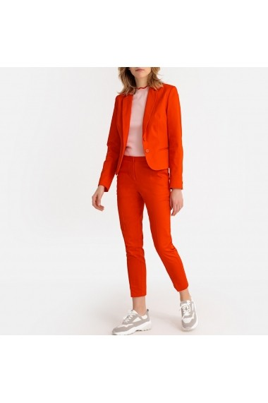 Pantaloni skinny La Redoute Collections GER344 portocaliu