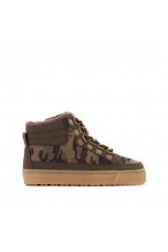 Pantofi sport inalti La Redoute Collections GER628 kaki