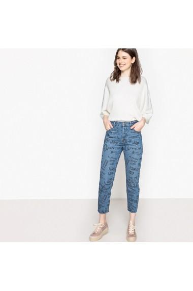 Jeans La Redoute Collections GES108 albastru - els