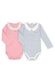 Set 2 body-uri La Redoute Collections GES596 roz