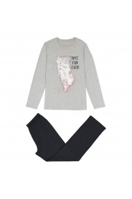 Pijama La Redoute Collections GET498 gri