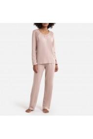 Pijama La Redoute Collections GEU034 gri-bej