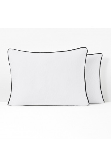 Fata de perna Pavone La Redoute Interieurs GEV867 63x63 cm alb