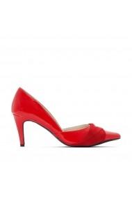 Pantofi cu toc CASTALUNA GEV907 rosu