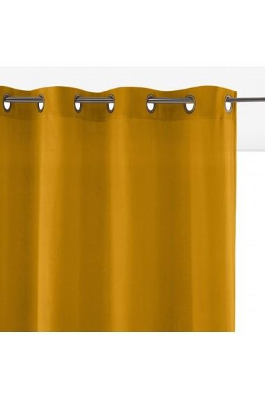 Draperii Velvet La Redoute Interieurs GEW963 260x135 cm bronz