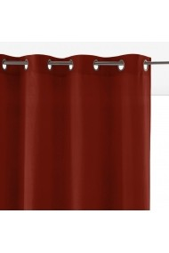 Draperii Velvet La Redoute Interieurs GEW963 260x135 cm rosu