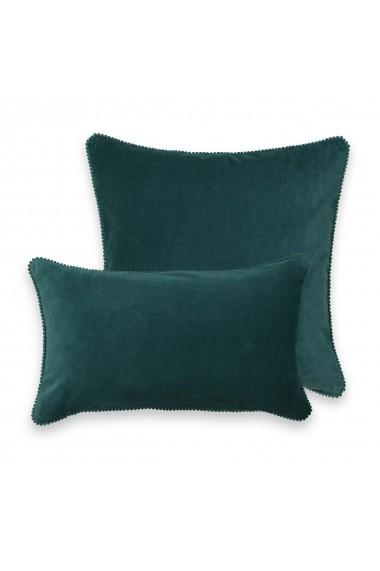 Perne decorative Velvet La Redoute Interieurs GEW992 45x45 cm verde
