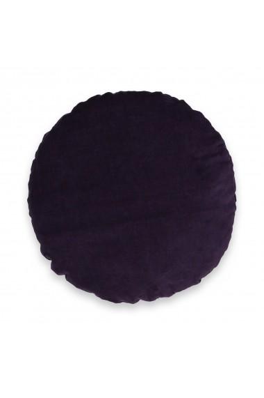 Perne decorative Velvet La Redoute Interieurs GEW998 Diam 35cm violet