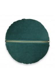 Perne decorative Velvet La Redoute Interieurs GEW998 Diam 35cm verde