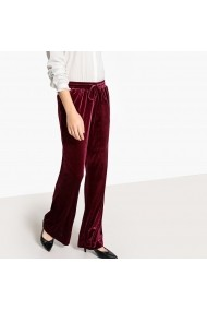 Pantaloni largi La Redoute Collections GEX476 bordo
