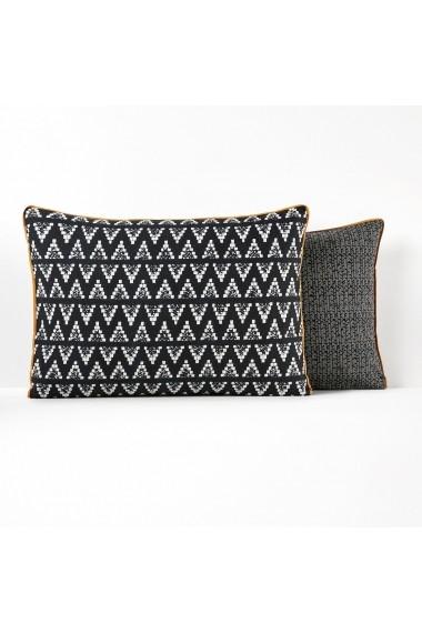Fata de perna Popayan La Redoute Interieurs GEX741 63x63 cm negru