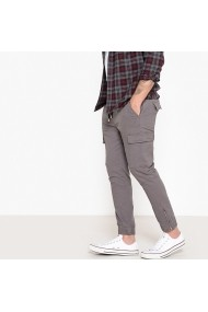 Pantaloni cargo La Redoute Collections GEX852 gri