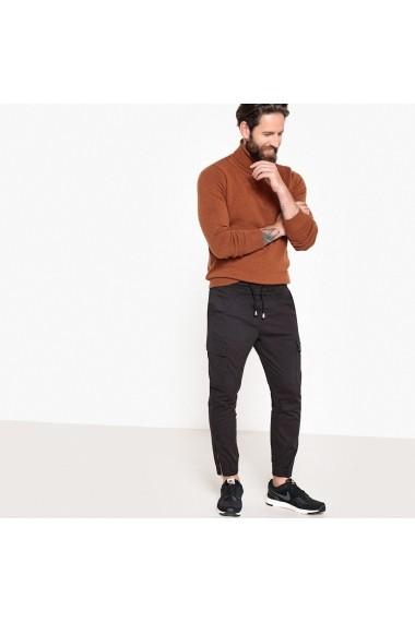 Pantaloni cargo La Redoute Collections GEX852 negru