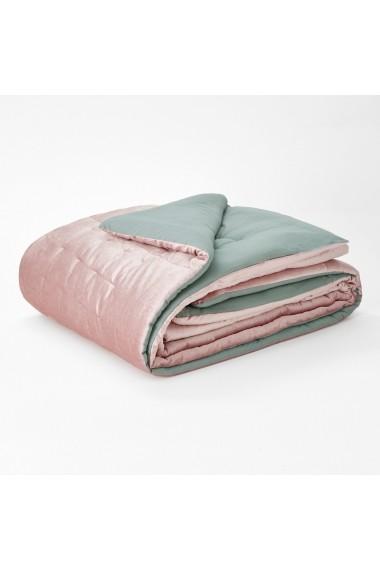 Cuvertura de pat Damya La Redoute Interieurs GEX853 180x230 cm roz