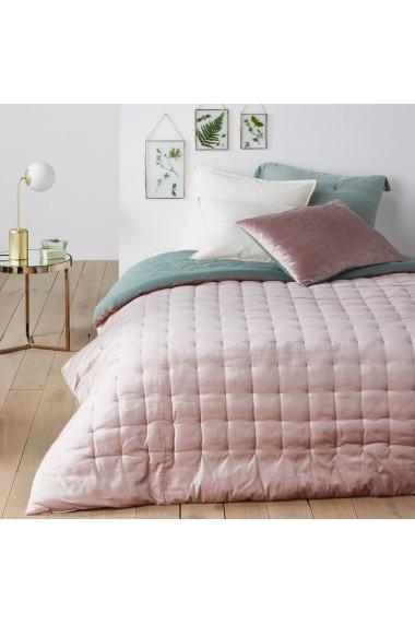 Cuvertura de pat Damya La Redoute Interieurs GEX853 230x250 cm roz