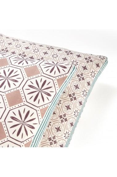 Fata de perna Salernes La Redoute Interieurs GEX942 50x70 cm violet