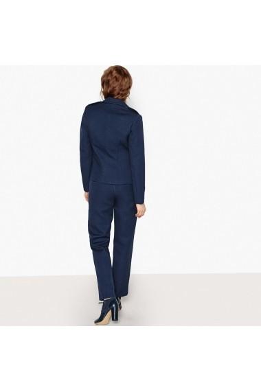 Pantaloni drepti La Redoute Collections GEX994 bleumarin