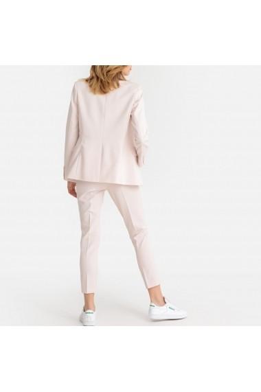 Pantaloni drepti La Redoute Collections GEY050 roz