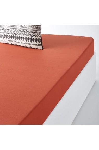 Cearsaf Tiebelle La Redoute Interieurs GEY081 90x190 cm maro