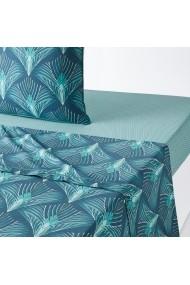 Cearsaf Pampelune La Redoute Interieurs GEY157 180x290 cm albastru