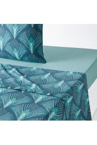 Cearsaf Pampelune La Redoute Interieurs GEY157 270x290 cm albastru