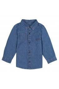 Camasa din denim La Redoute Collections GEY172 gri
